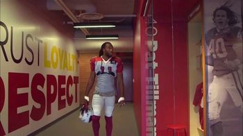 USAA TV Spot, 'Salute to Service: Larry Fitzgerald Honors Veterans'