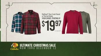 Bass Pro Shops Ultimate Christmas Sale TV Spot, 'Thermal and Flannel Shirts' - Thumbnail 5