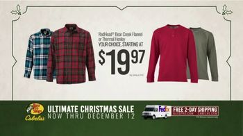 Bass Pro Shops Ultimate Christmas Sale TV Spot, 'Thermal and Flannel Shirts' - Thumbnail 6