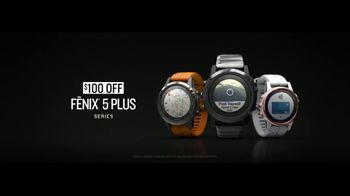 Garmin fenix 5 Plus Series TV Spot, 'Preloaded Mapping: $100 Off' - Thumbnail 6