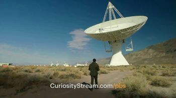 CuriosityStream TV Spot, 'PBS: Long Live the Curious'