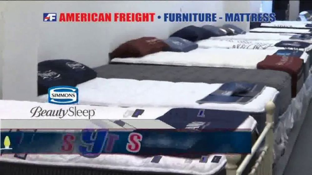 American Freight Holiday Super Savings Commercial Dinette Sets Mattress Bedroom