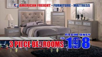 American Freight Holiday Super Savings TV Spot, 'Dinette Sets, Mattress Sets, Bedroom Sets and More' - Thumbnail 6