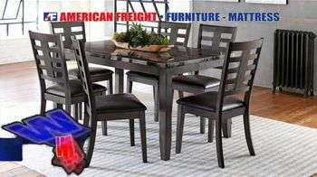 American Freight Holiday Super Savings TV Spot, 'Dinette Sets, Mattress Sets, Bedroom Sets and More' - Thumbnail 8