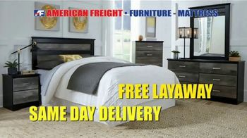 American Freight Holiday Super Savings TV Spot, 'Dinette Sets, Mattress Sets, Bedroom Sets and More' - Thumbnail 9