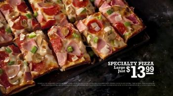 Jet's Pizza TV Spot, 'You Have to Work at It'