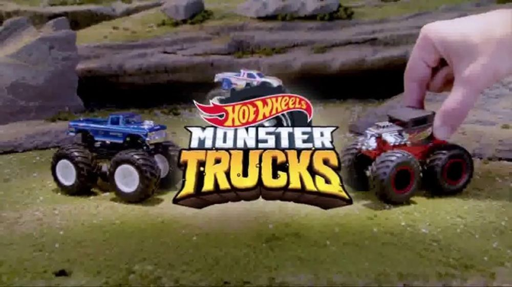 Hot Wheels Monster Trucks TV Commercial, 'Go Big' - Video