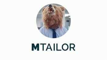 MTailor TV Spot, 'Business Bear Gets Custom Clothes' - Thumbnail 9