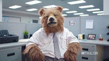 MTailor TV Spot, 'Business Bear Gets Custom Clothes' - Thumbnail 1