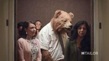 MTailor TV Spot, 'Business Bear Gets Custom Clothes'