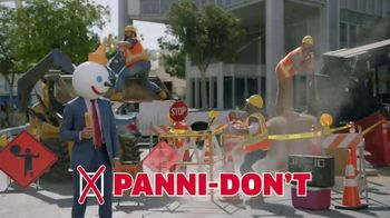 Jack in the Box Pannidos TV Spot, 'Panni-Do's & Panni-Don'ts' - Thumbnail 9