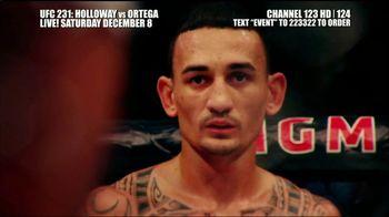 DIRECTV TV Spot, 'UFC 231: Holloway vs. Ortega' - 7 commercial airings