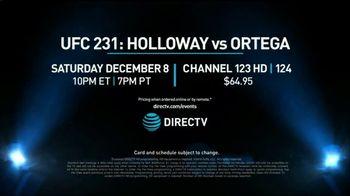 DIRECTV TV Spot, 'UFC 231: Holloway vs. Ortega' - Thumbnail 10