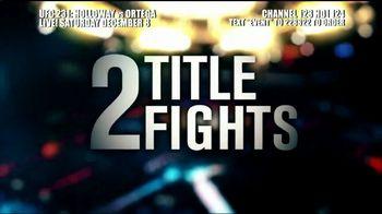 DIRECTV TV Spot, 'UFC 231: Holloway vs. Ortega' - Thumbnail 2