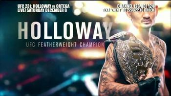 DIRECTV TV Spot, 'UFC 231: Holloway vs. Ortega' - Thumbnail 5