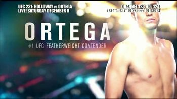 DIRECTV TV Spot, 'UFC 231: Holloway vs. Ortega' - Thumbnail 7
