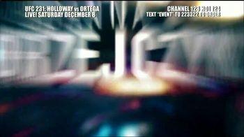 DIRECTV TV Spot, 'UFC 231: Holloway vs. Ortega' - Thumbnail 9
