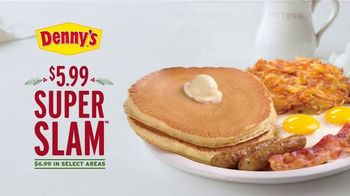 Denny's Super Slam TV Spot, 'Feed Your Holiday Hunger' - Thumbnail 6