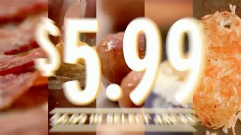 Denny's Super Slam TV Spot, 'Feed Your Holiday Hunger'