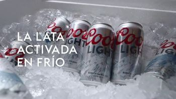 Coors Light TV Spot, 'Party Cooler' [Spanish]
