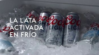 Coors Light TV Spot, 'Party Cooler' [Spanish] - Thumbnail 3