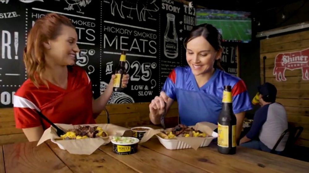 Dickey's BBQ TV Commercial, 'Two Fan Favorites'