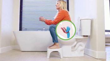 Squatty Potty TV Spot, 'Healthier Bathroom Experience'