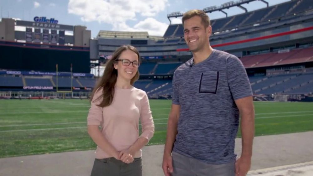 Draper TV Commercial, 'The Science of Sports: Kicker' Featuring Stephen Gostkowski