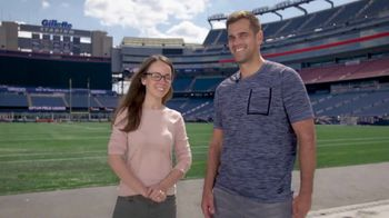 Draper TV Spot, 'The Science of Sports: Kicker' Featuring Stephen Gostkowski
