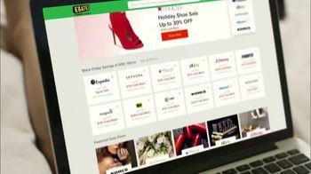 Ebates TV Spot, 'Holiday Shopping: $10 Bonus' - Thumbnail 2