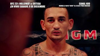 DIRECTV TV Spot, 'UFC 231: Holloway vs. Ortega' [Spanish] - Thumbnail 1