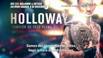DIRECTV TV Spot, 'UFC 231: Holloway vs. Ortega' [Spanish] - Thumbnail 5