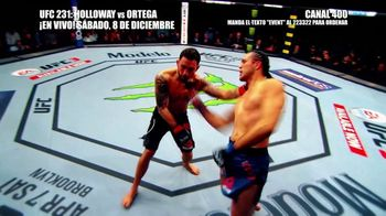 DIRECTV TV Spot, 'UFC 231: Holloway vs. Ortega' [Spanish] - Thumbnail 6