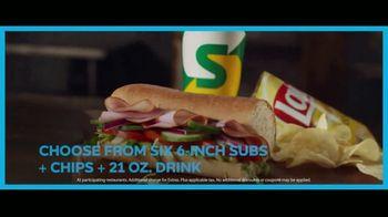 Subway Simple $6 Menu TV Spot, 'Keeping It Simple' - Thumbnail 8