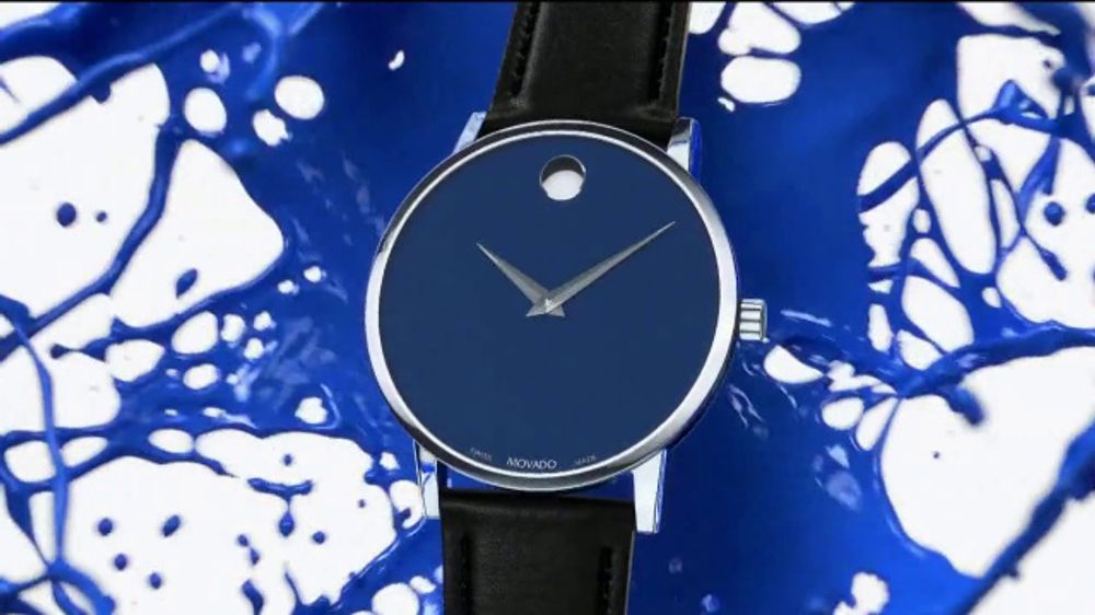 Movado TV Commercial, 'Don't Let Numbers Define You: Blue' Song by Foreign Air