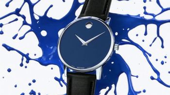 Movado TV Spot, 'Don't Let Numbers Define You: Blue' Song by Foreign Air - Thumbnail 5