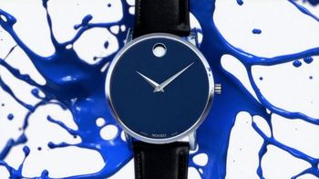 Movado TV Spot, 'Don't Let Numbers Define You: Blue' Song by Foreign Air - Thumbnail 9