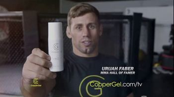 CopperGel TV Spot, 'Powerful Properties of Copper' Featuring Mike Tyson, Urijah Faber, Brian Shaw - Thumbnail 3