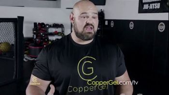 CopperGel TV Spot, 'Powerful Properties of Copper' Featuring Mike Tyson, Urijah Faber, Brian Shaw - Thumbnail 4