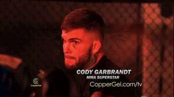 CopperGel TV Spot, 'Powerful Properties of Copper' Featuring Mike Tyson, Urijah Faber, Brian Shaw - Thumbnail 5