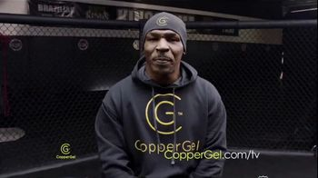 CopperGel TV Spot, 'Powerful Properties of Copper' Featuring Mike Tyson, Urijah Faber, Brian Shaw - 19 commercial airings