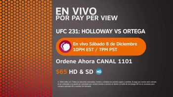 DIRECTV TV Spot, 'UFC 231: Two Championship Fights' [Spanish] - Thumbnail 9