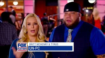 Fox Nation TV Spot, 'Speak Freely' Featuring Britt McHenry, Tyrus - 10 commercial airings