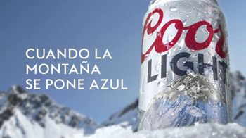 Coors Light TV Spot, 'Snow' [Spanish]