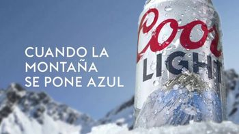 Coors Light TV Spot, 'Snow' [Spanish]