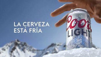 Coors Light TV Spot, 'Snow' [Spanish] - Thumbnail 4