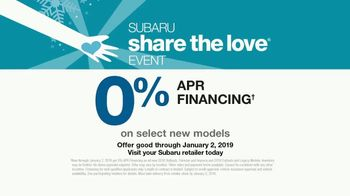 Subaru Share the Love Event TV Spot, 'New Friends' [T2] - Thumbnail 7