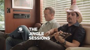 Nationwide Insurance TV Spot, 'Jingle Sessions: Retirement' Featuring Peyton Manning, Brad Paisley - 855 commercial airings