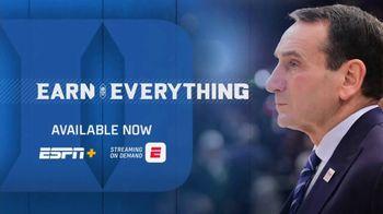 ESPN+ TV Spot, 'Earn Everything' - 1 commercial airings