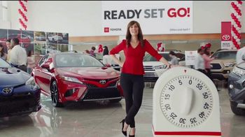 Toyota Ready Set Go! TV Spot, 'A Little More Time' [T2] - 1 commercial airings